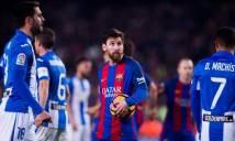 Barca lập kỷ lục lạ sau trận thắng Leganes