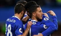 Costa - Hazard tỏa sáng, Chelsea tiếp tục đứng vững trên ngôi đầu NHA