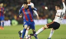 Với Valencia, Messi vẫn là một hung thần
