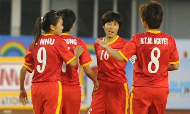 Hòa Thái Lan, ĐT nữ Việt Nam sẽ giành ngôi nhất bảng