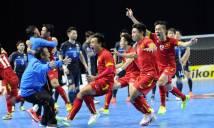 Futsal Uzbekistan hơn Futsal Việt Nam bao nhiêu bậc trên BXH?