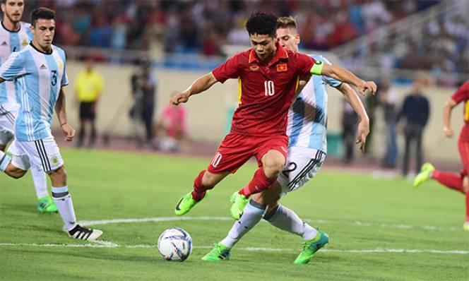 Đẳng cấp quá chênh lệch, U22 Việt Nam thua thắng 5 bàn trước U20 Argentina