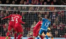 Thủng lưới phút cuối, Liverpool đánh rơi chiến thắng trước Bournemouth
