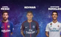 UEFA công bố đề cử Đội hình hay nhất năm 2017, Ronaldo phá kỷ lục