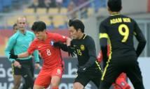 Kết quả U23 Malaysia - U23 Hàn Quốc: Khác biệt đẳng cấp