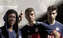 Chùm ảnh: Bayern chính thức ra mắt mẫu áo đấu sân khách mùa 2017/18