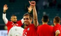 Bayern Munich tri ân Philipp Lahm bằng hành động đặc biệt