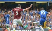 Hazard solo ghi bàn cực ấn tượng phá lưới Burnley