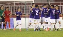 Đánh bại đội bóng của Công Vinh, Hà Nội FC lên ngôi nhì bảng
