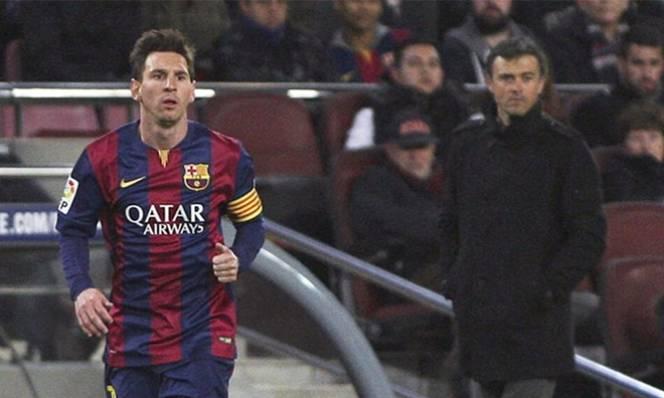 Enrique không quan tâm tới chuyện Messi giã từ ĐTQG