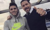 HLV Simeone muốn tái ngộ quý tử tại Atletico