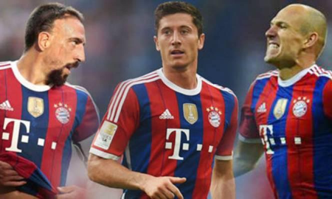 Bayern trói chân thành công bộ ba công thần