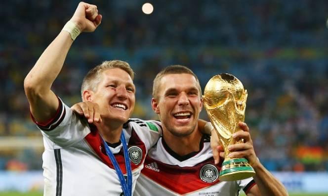 Cựu sao tuyển Đức muốn Schweinsteiger và Podolski rời ĐTQG