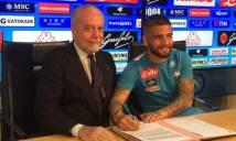 Napoli CHÍNH THỨC ký mới với Insigne đến năm 2022