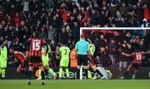 Dư âm Bournemouth 4-3 Liverpool: Khi hàng thủ là tử huyệt của Lữ đoàn đỏ