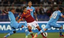 Nhận định AS Roma vs Napoli 01h45, 15/10 (Vòng 8 - VĐQG Italia)