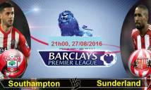 Southampton vs Sunderland, 21h00 ngày 27/08: Đau đầu vì quân số