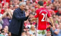 Kỷ lục đáng buồn của Mourinho trong ngày M.U bại trận