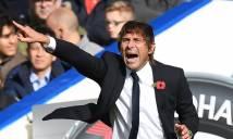HLV Antonio Conte tuyên bố không sợ bị đuổi việc