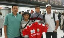 Sao trẻ B.Bình Dương được CLB top 3 Nhật Bản bổ túc tư duy bóng đá