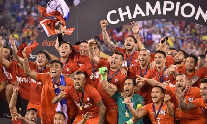 Chile hẹn ngày phân cao thấp với nhà vô địch EURO 2016