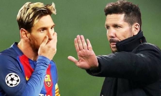 Simeone dùng đòn tâm lý trước thềm đại chiến Barca