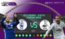 Chelsea vs Swansea, 22h00 ngày 25/2: Mèo lại hoàn mèo