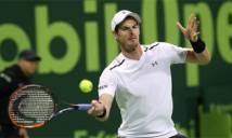 Murray thoát hiểm vào tứ kết Qatar Open