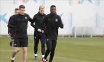 CHÍNH THỨC: Ousmane Dembele sẵn sàng cho El Clasico