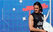 Cavani trở lại tập luyện, sẽ ra sân trước Pháp?