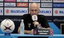 HLV Eriksson tuyên bố sẽ đả bại ĐT Việt Nam