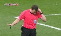 CHÙM ẢNH: Trận đấu Pháp - Tây Ban Nha phải 2 lần nhờ tới công nghệ