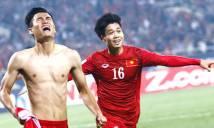 Cầu thủ hay nhất tháng 2: Công Phượng cạnh tranh Minh Tuấn