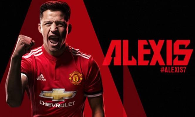 CHÍNH THỨC: Man Utd nổ 'bom tấn' Alexis Sanchez