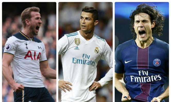 Real Madrid vung 250 triệu bảng mua Kane và Cavani thay Ronaldo