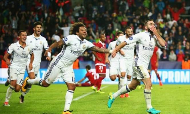 Real Madrid ngược dòng kịch tính đánh bại Sevilla