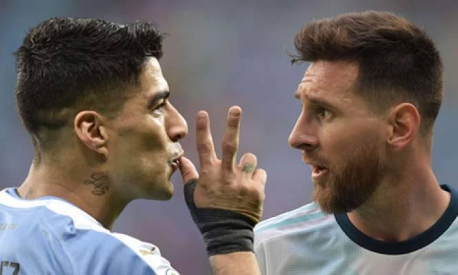 Messi mờ nhạt, Suarez rực sáng tại Copa America 2019