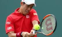 Nishikori gục ngã, Fognini vào bán kết Miami Open
