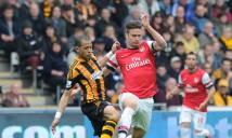 Arsenal vs Hull City, 19h30 ngày 11/02: Không có bất ngờ