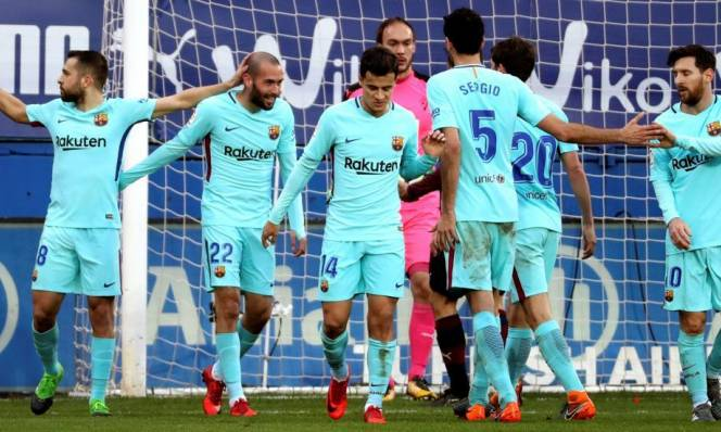 Barcelona tái lập kỷ lục khủng, Messi cũng có kỷ lục 'trớ trêu'