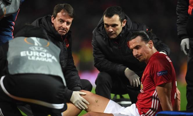 Đã có thông tin mới nhất về chấn thương của Ibrahimovic và Marcos Rojo