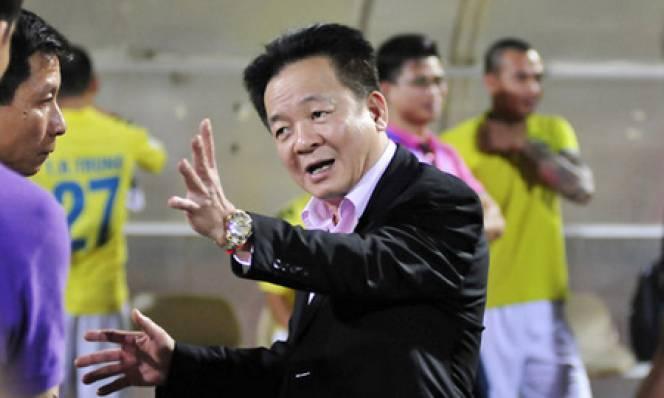 Hà Nội T&T quyết vô địch V-League 2016 dành tặng bầu Hiển