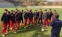 HLV Park Hang Seo tiếp 'doping' cho U19 Việt Nam trước trận gặp Maroc