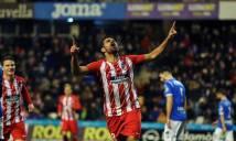Diego Costa ghi bàn trong ngày tái xuất ở Atletico Madrid