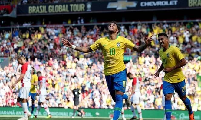 Kết quả Brazil 2-0 Croatia: Neymar tái xuất, solo lập siêu phẩm