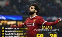 Thi đấu bùng nổ trong trận gặp Hudderfied, Salah vượt qua mọi huyền thoại của Liverpool