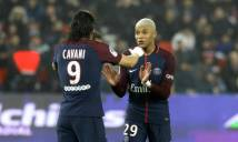 Hạ Caen, PSG 'gác' các đối thủ 9 điểm sau lượt đi Ligue 1