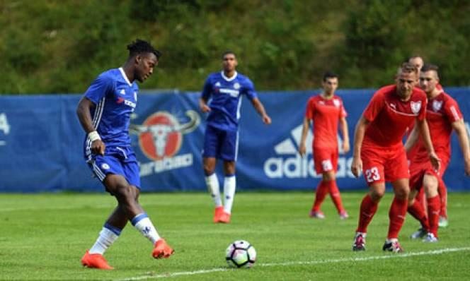 Chelsea thắng lớn trong trận giao hữu kín