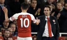 Emery ca ngợi màn trình diễn của Oezil trước Leicester