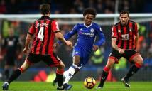 SOI SỐ BÀN THẮNG Chelsea vs Bournemouth, 2h45 ngày 1/2 (Vòng 25 Ngoại Hạng Anh)